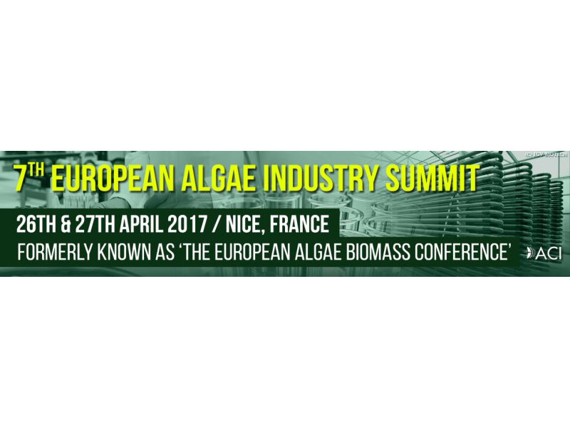 ACI 7th EUROPEAN ALGAE INDUSTRY SUMMIT